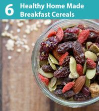 6 Healthy Home Made Breakfast Cereals For Weight Loss