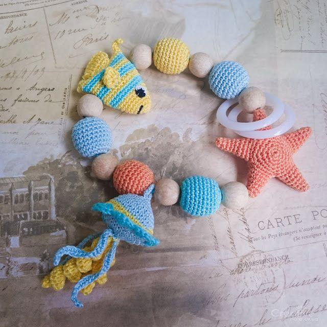 Игрушка-погремушка 'Морской мир' - creative