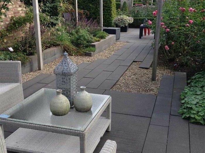 Die besten 25+ Kies garten Ideen auf Pinterest Kies-weg, Erbsen - vorgarten modern kies