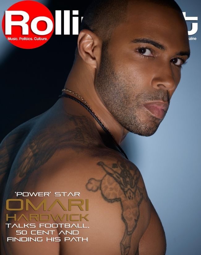 'Power' star Omari Hardwick talks football, 50 Cent and finding his path