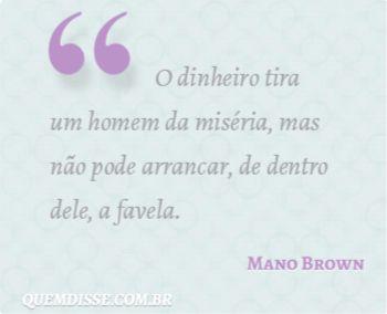 Frase de Mano Brown