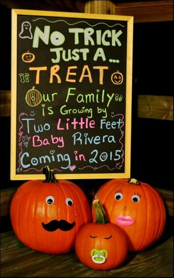 Halloween Pumpkin Pregnancy Announcement *This was made to announce my baby boy Ethan's arrival. Sadly Ethan passed away 14 weeks into my pregnancy but I am determined to have his memory live I love seeing his announcement shared and pinnedThank you, I hope this brings you as much joy & excitement making it as it gave me