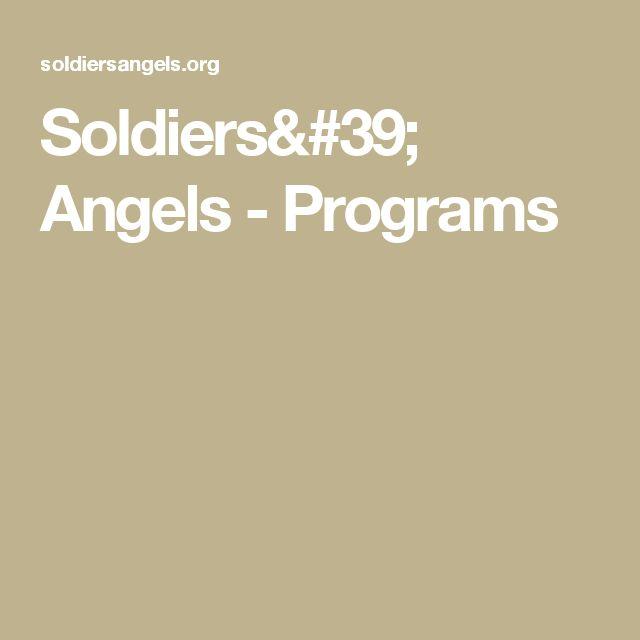 Soldiers' Angels - Programs