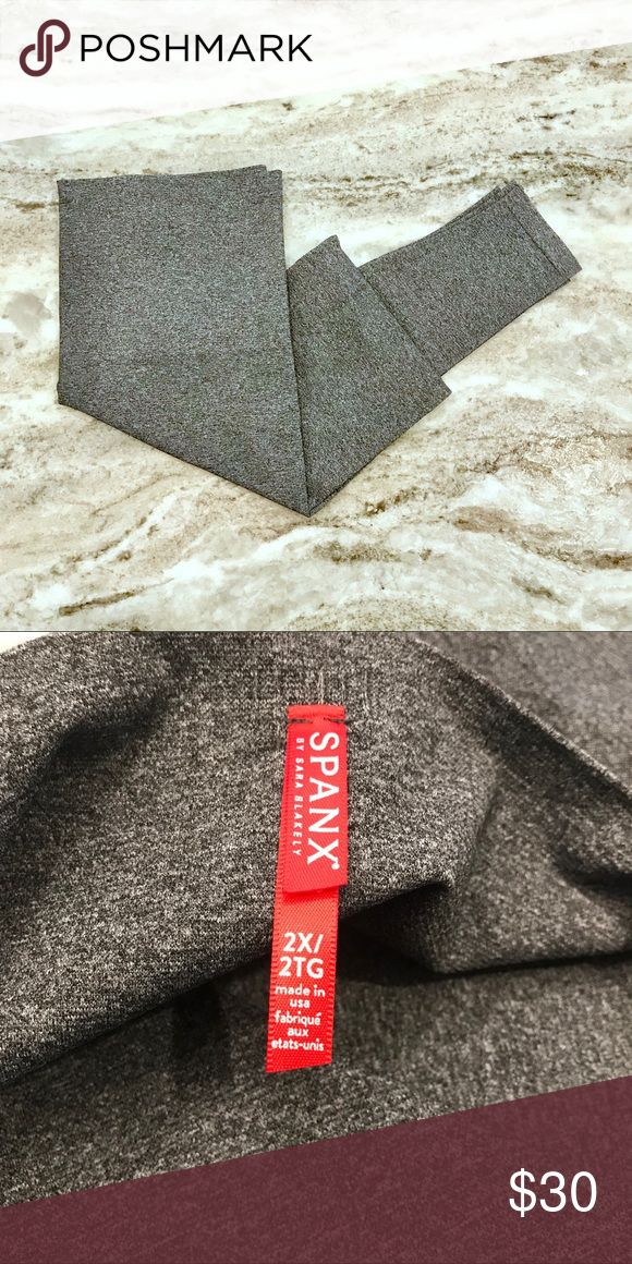 🆕 Spanx || Seamless Leggings - Heather Gray Featuring a wide waistband these are premier tummy control leggings! They smooth your silhouette to make your favorite tunic or long sweater look as flattering as ever. These leggings do not have tags, but they've never been worn!   We have 2 of these heather gray leggings for sale! Along with other 2X leggings. Bundle multiple for an exclusive offer! SPANX Pants Leggings