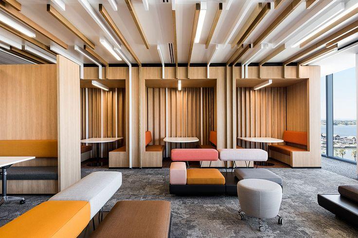 Deloitte perth by geyer oficinas cafeter a y decoracion for Oficinas deloitte