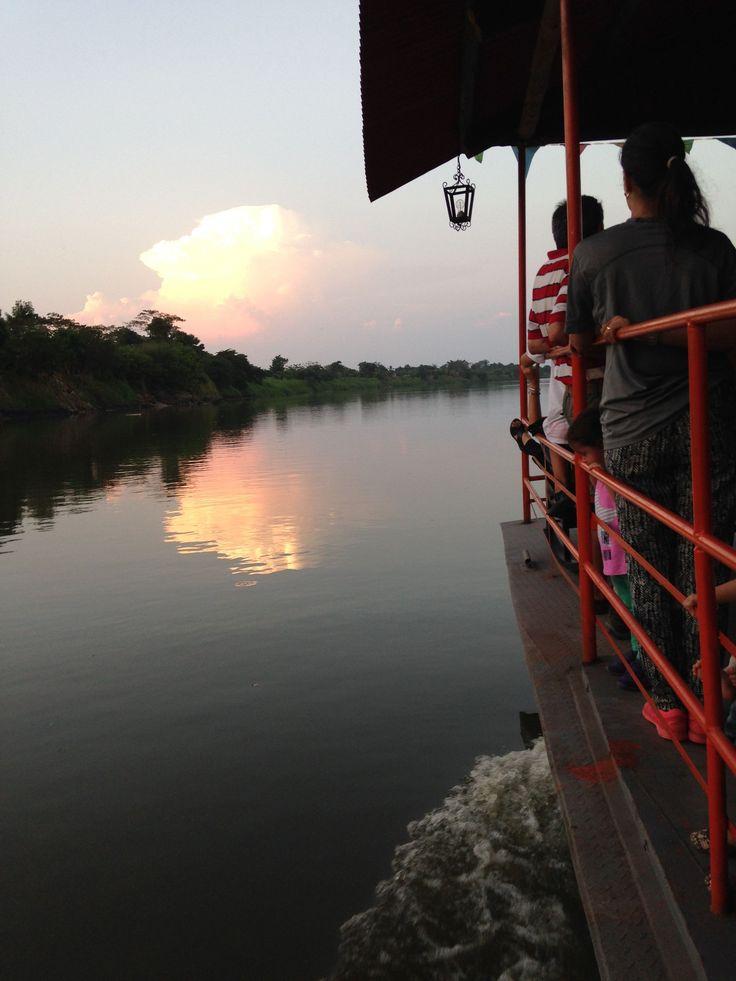 Rìo Magdalena, Mompox, Colombia