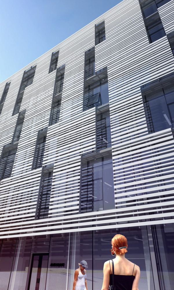 27 Best Horizontal Louver Facade Images On Pinterest