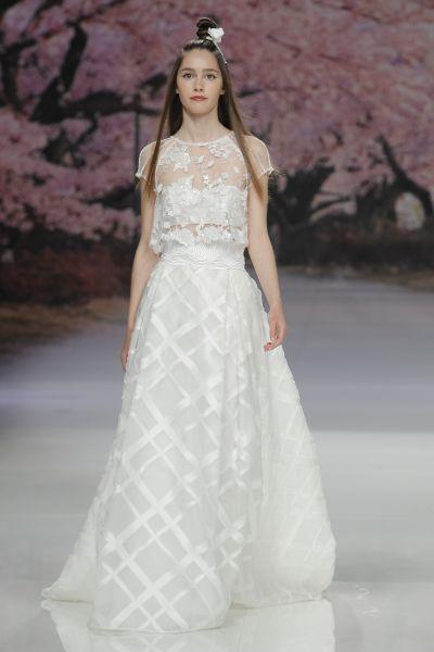 Vestidos de novia con encaje 2017: Luce sutil, delicada y elegante Image: 25
