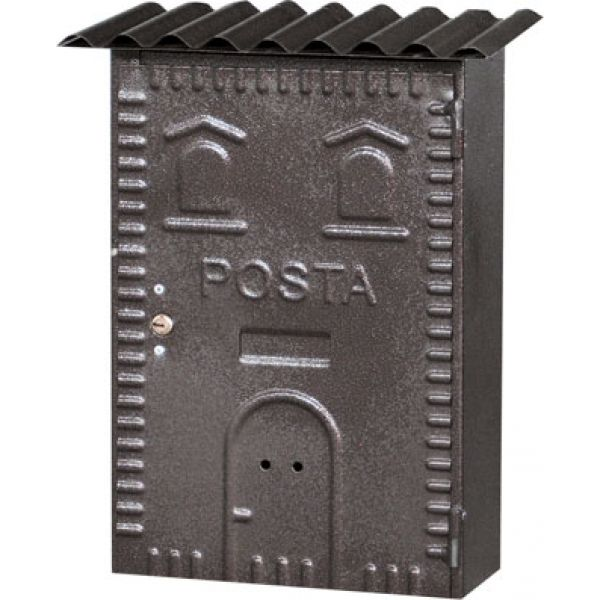 CASSETTA POSTALE IN FERRO BATTUTO (83) D