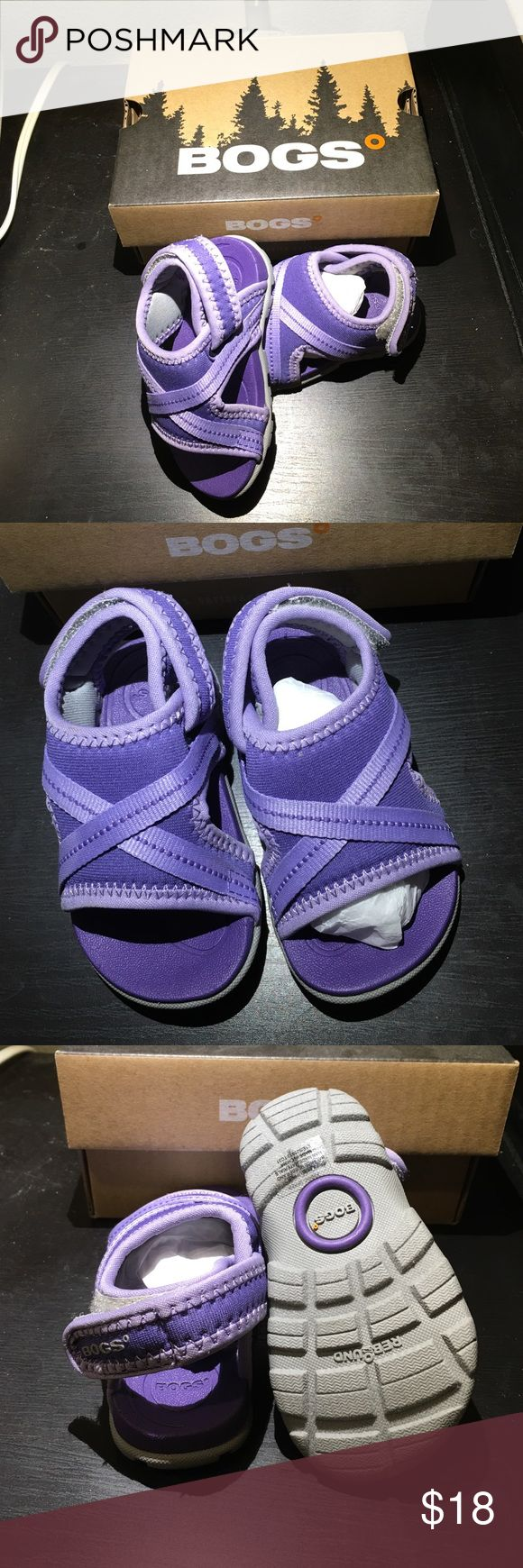 BRAND NEW! BOGS Bluefish Kids shoes Bogs Bluefish Outdoor kids Sandals with Slip On Strap Adjustable. Waterproof. Ultra comfortable and offer a bit more coverage than other sandals. Bogs Shoes Sandals & Flip Flops