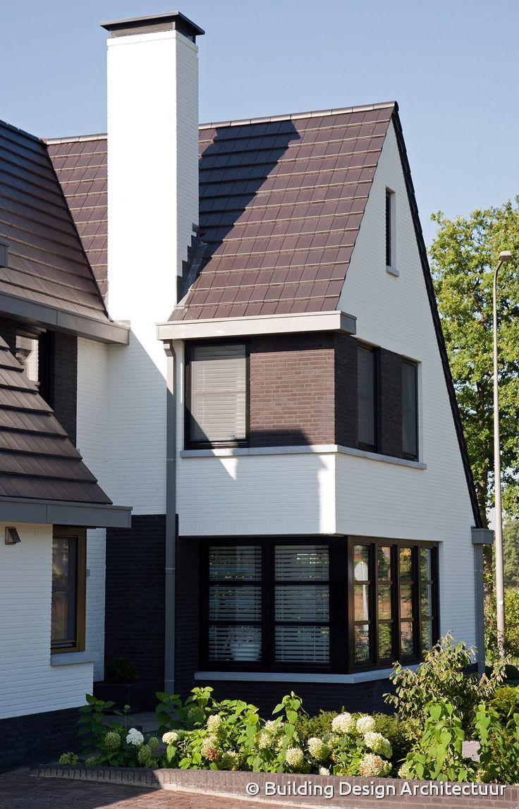 20 beste idee n over witte buitenkant huizen op pinterest witte gevelbeplating - Eigentijdse design ingang ...