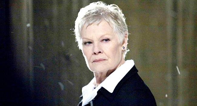 """78-годишната Джуди Денч, чиято героиня Ем беше убита в последния филм за Джеймс Бонд """"007: Координати Скайфол"""" оглави класация на най-добрите актьори и актриси във Великобритания за всички времена."""