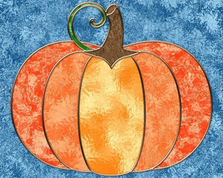 halloween stained glass patterns Pumpkin hope you enjoy