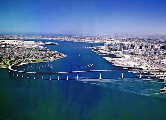 Coronado Bridge San Diego - While serving in the military and deployed overseas... seeing this bridge from the Pacific was my symbol that we finally made it home