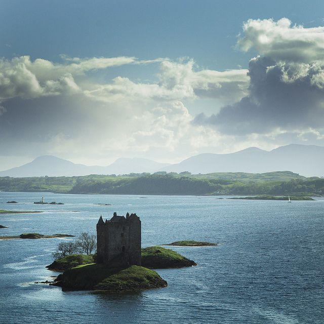 Castle Stalker, Loch Laich, Scotland.