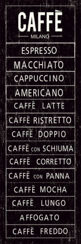 "This is what you are allowed to ask in Italy about coffee...( and please - please stop asking ""latte"" or ""doppio cappuccino"", we have some ideas about coffee/cappuccino which are not always the same than Starbucks)"