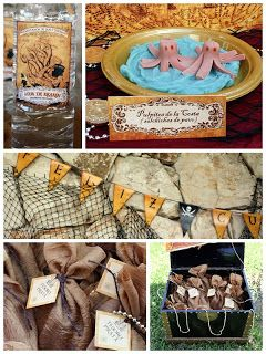 Stylish Childrens Parties: Pirate Birthday Party