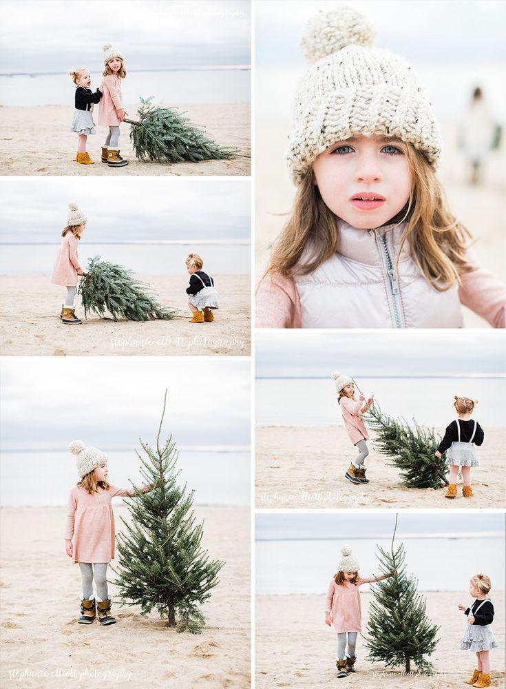 Winter beach, christmas card photos, christmas as the beach,THE Blog — Stephanie Elliott Photography