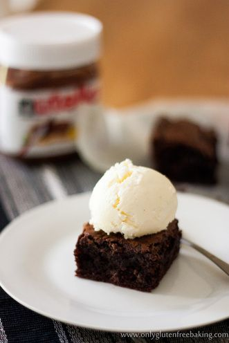 Nutella Brownies - Gluten Free - Sally's Only Gluten Free Baking