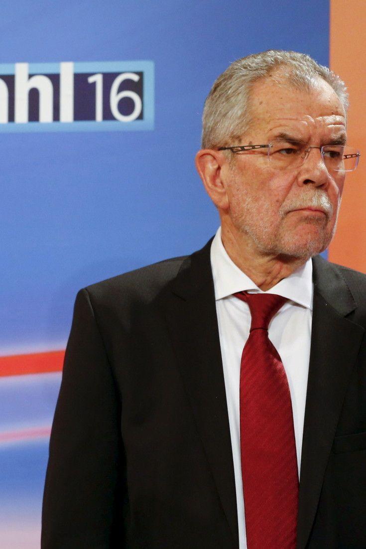 Bundespräsidentenwahl in Österreich 2016: Hofer liegt in erster Hochrechnung knapp vorn