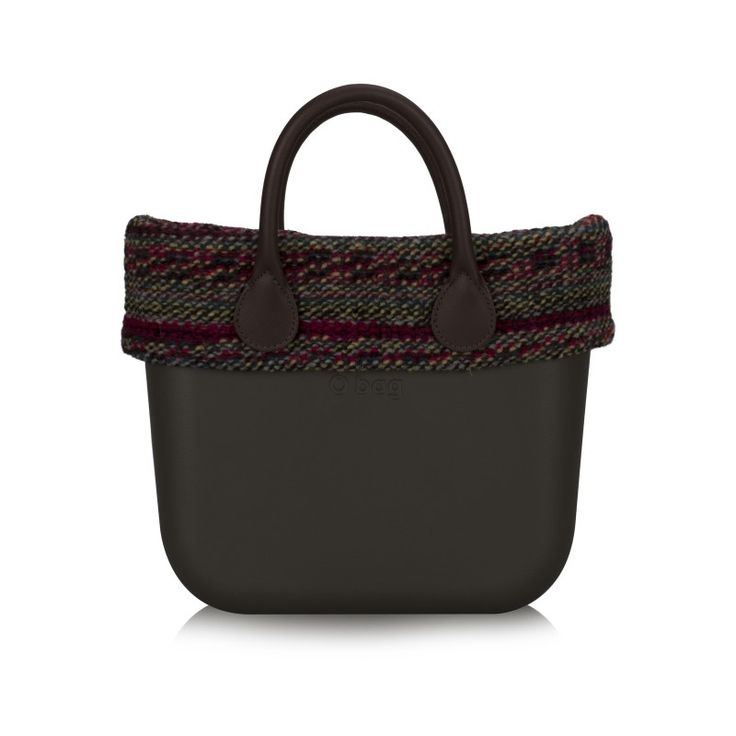 O bag mini   Bordo in Lana Puntinata - O bag mini - O bag