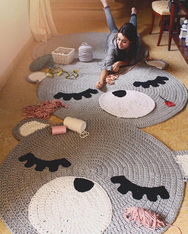 "4,350 Me gusta, 87 comentarios - SusiMiu (@susimiu) en Instagram: ""Un domingo gris muy #susimiu #handmade #cute #kids #bear #teo #teorug #crochet #instagram…"""