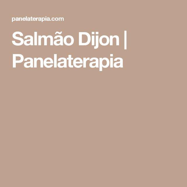 Salmão Dijon | Panelaterapia