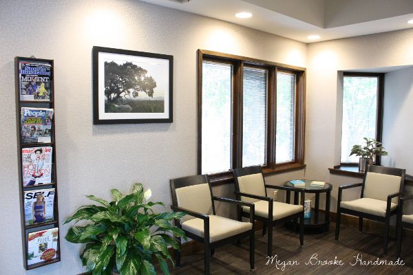 dental office reception. before u0026 after dental office renovation receptions magazine racks and chairs reception d