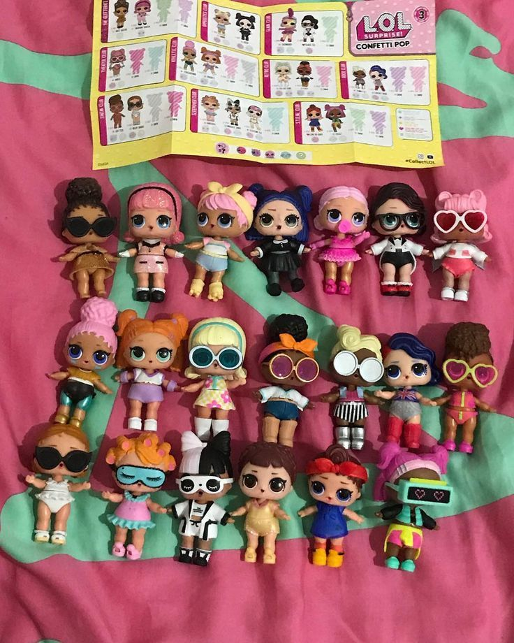 Lol Surprise Series 3 Wave 1 Is Complete Lol Lolsurprise Confetti Loldolls Ultrarare Rare Fancy Pop Lol Dolls Monster High Birthday Party Birthday Toys