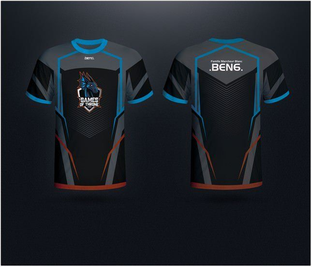Download Jersy Gaming Team Mockup Jersey Design Design Template Jersey