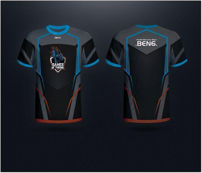 Jersey esport team mockup on behance. Jersy Gaming Team Mockup Jersey Design Jersey Sport T Shirt