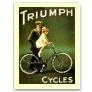 Ciclos de Triumph - vintage Tarjeta Postal