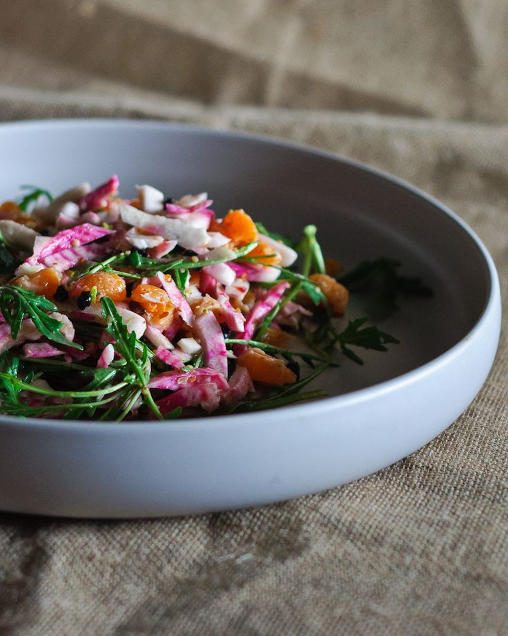 how to prepare raw beets for salad