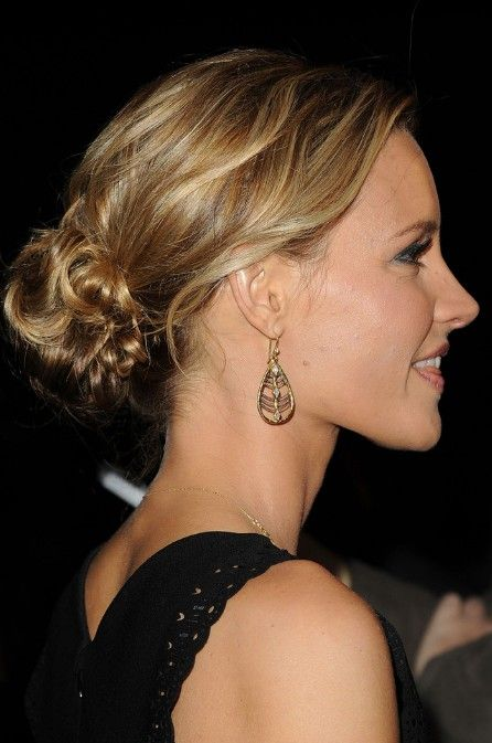 The Most Popular Messy Wavy Updo Recently