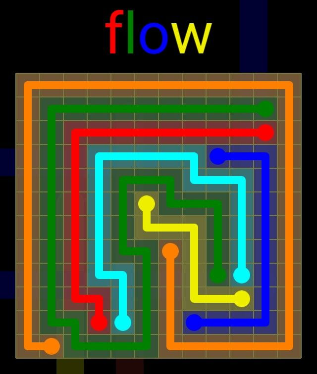 Flow Extreme Pack 2 - 12x12 - level 24 solution