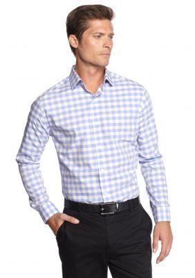 MADE Cam Newton  Non Iron Medium Gingham Shirt