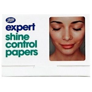 Boots Shine Control by Boots. $4.69. These indispensable specialist papers instantly absorb shine-inducing excess oil without removing make up.