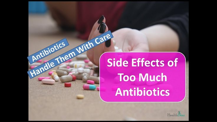Discover the LONG TERM Side Effects of Using Antibiotics # ...