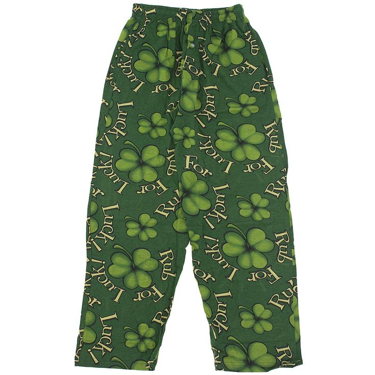 St. Patrick's Day Sleepwear for Men. Whether you're Irish or just joining in on the fun this St. Patrick's Day, wearing green St. Patrick's Day Pajamas is a must if you live in the United States.
