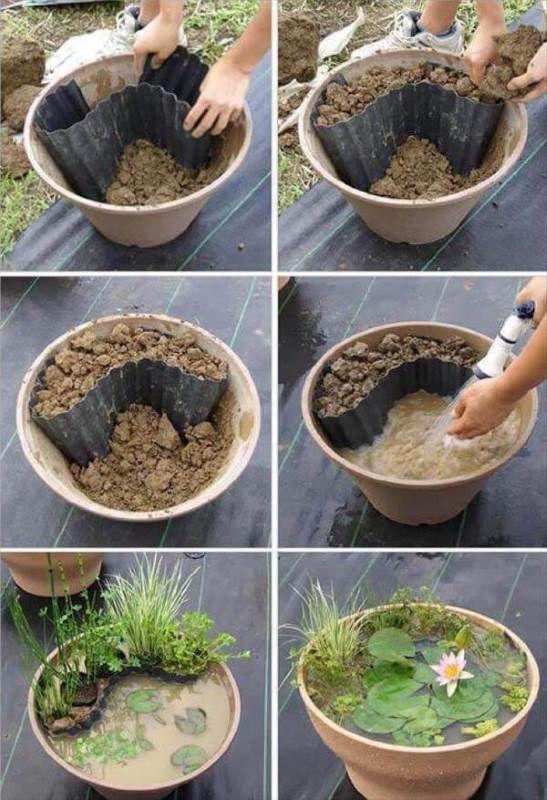 10 DIY Ideen für den Garten