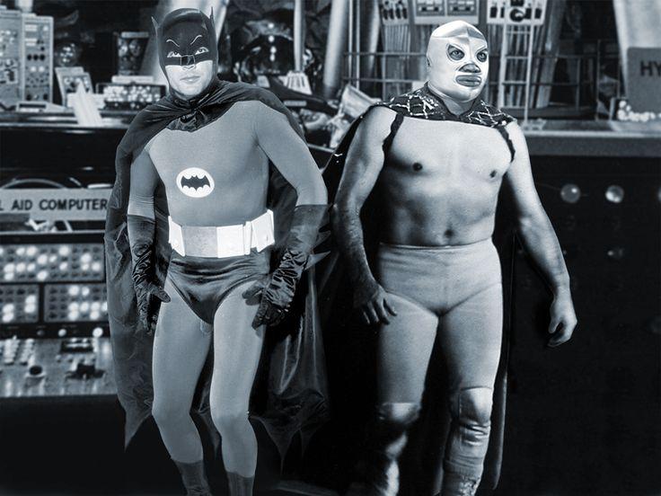 Batman y El Santo