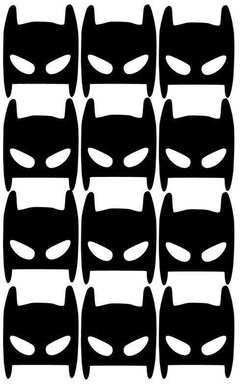 Batman Mask Sticker!!! These wall Stickers will upgrade the look of your room…