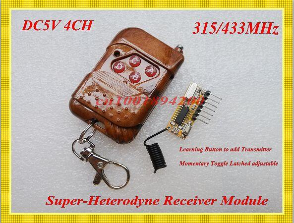 $267.00 (Buy here: https://alitems.com/g/1e8d114494ebda23ff8b16525dc3e8/?i=5&ulp=https%3A%2F%2Fwww.aliexpress.com%2Fitem%2FSuperheterodyne-Receiver-Module-DC5V-4Channel-Remote-Control-Receiver-Module-Momentary-Toggle-Latched-Adjusted-Learning-Code%2F793888576.html ) Superheterodyne Receiver Module DC5V 4Channel Remote Control Receiver Module Momentary Toggle Latched Adjusted Learning Code for just $267.00