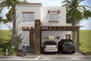 cocheras y fachadas para casas de interes social (8) - Curso de Organizacion del hogar y Decoracion de Interiores
