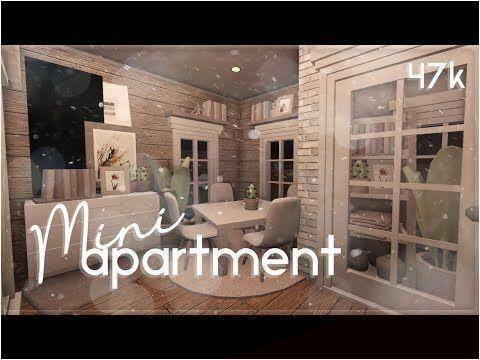 Jan 11 2020 Roblox Bloxburg Mini Apartment House Build Youtube In 2020 Tiny House Layout Mini Apartments Luxury House Plans