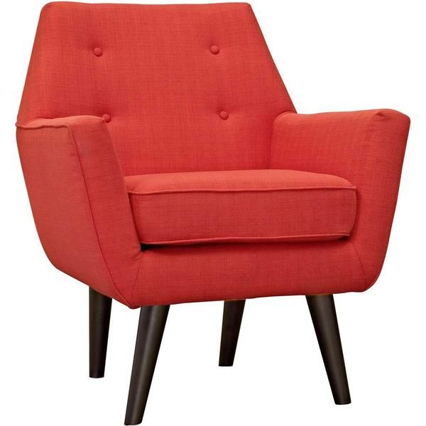 Posterity Armchair Atomic Red