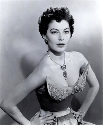 "Ava Gardner in ""The Barefoot Contessa"""