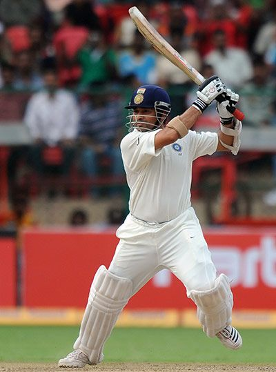 Tendulkar became the first batsman ever to reach the milestone of 14,000 runs in Test cricket during the second day of the second Test betwe...