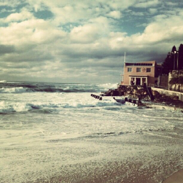 Coogee Beach.  I will never forget this scene. #home