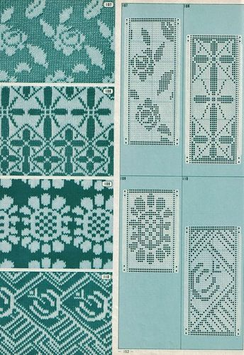 165 Best Knitting Machine Punch Cards Images On Pinterest Knitting